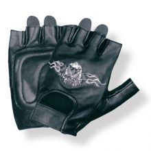 Fingerless Glove Eagle Motif