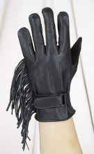Ladies Fringed Gloves