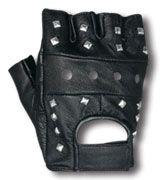 Fingerless Studded Gloves