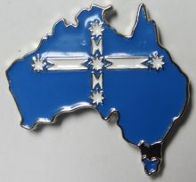 Australia Eureka Metal Badge