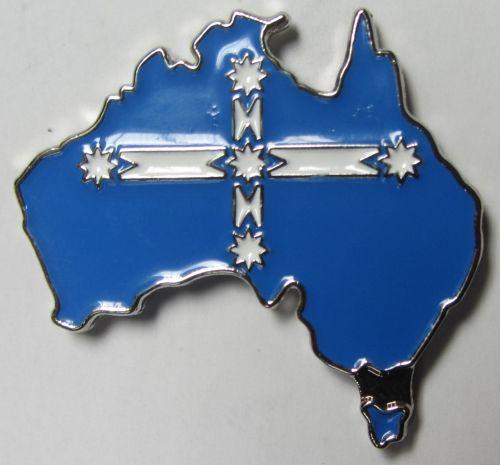 Australia Eureka Metal Badge