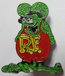 Ratfink the Rat Badge