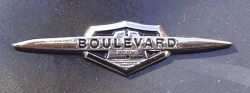 Suzuki Boulevard Badge