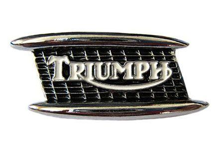 Triumph Tank Badge