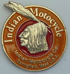 Indian Motocycle Springfield Round Badge