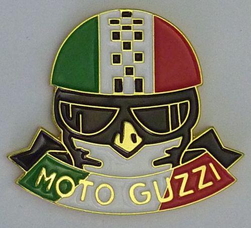 Moto Guzzi Helmet Badge