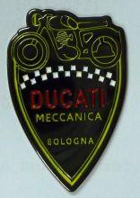Ducati Shield Metal Badge