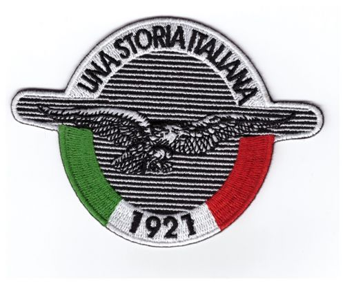 Moto Guzzi 1921 Una Storia Italiana Patch