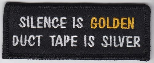 Silence is Golden Patch