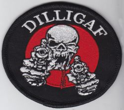 DILLIGAF Oval Patch