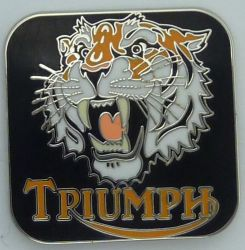 Triumph Tiger Badge