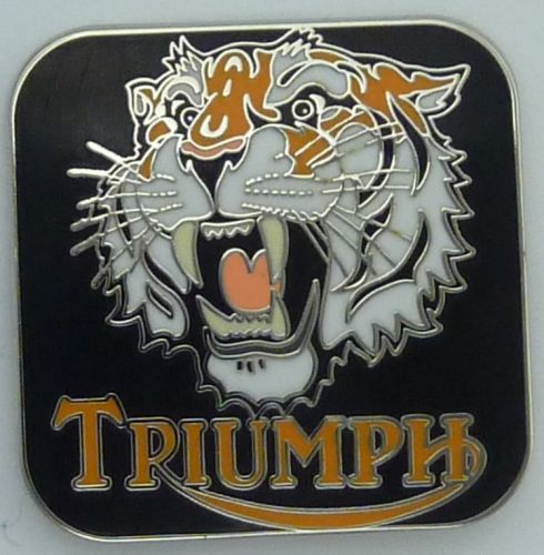 Triumph Tiger Badge
