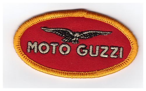 Moto Guzzi Red Oval Patch