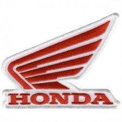 Honda White Wings Patch