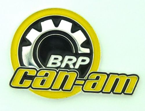 Can-am metal Badge