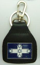 Eureka HC Leather Keyring