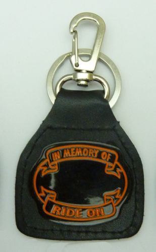 Rememberance Leather Keyring