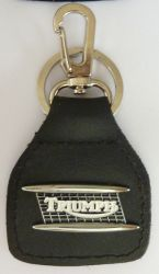 Triumph Tank  HCLeather Keyring