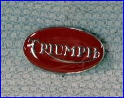 Triumph Oval M Badge