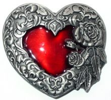 Belt Buckle Heart