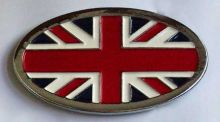Belt Buckle British Flag