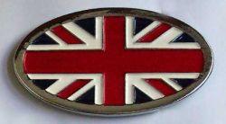 Belt Buckle British Flag