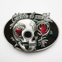 Belt Buckle Celebrate Death