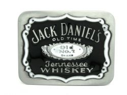 Jack Daniels Black&White Belt Buckle