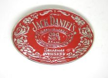 Jack Daniels Red Belt Buckle