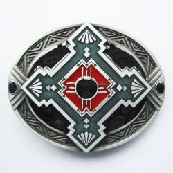 Belt Buckle Tribal Indian