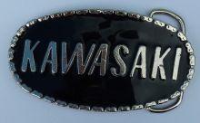 Kawasaki Black Belt Buckle