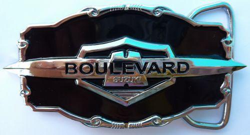 Suzuki Boulevard Belt Buckle