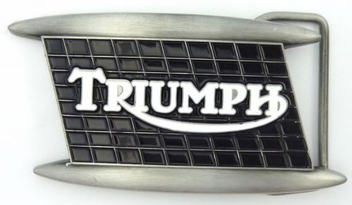 Triumph Tank Belt Buckle