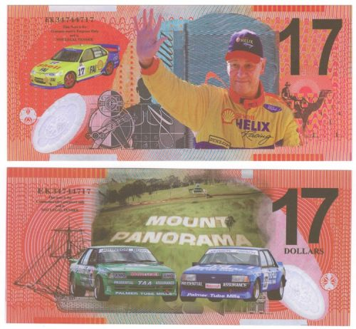 Mt Panorama Novelty Note