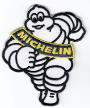 Michellin Man Embroidered Patch