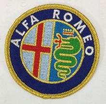 Alfa Romeo Embroidered Cloth Patch