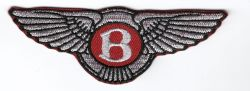 Bentley Wings Embroidered Patch