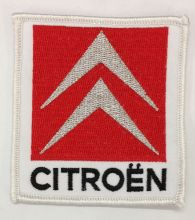 Citroen Embroidered Cloth Patch