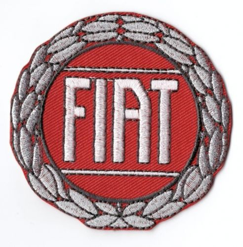 Fiat Embroidered Patch