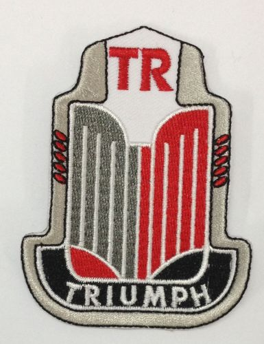 Triumph Grill Embroidered Patch