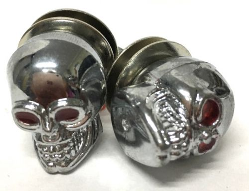 Number Plate Bolts Skull
